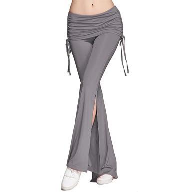 Pantalons Jogging Femme Printemps Automne Pantalon De Loisirs Elégante Mode  Chic Pantalon Large Casual Uni Manche fa8fa150546