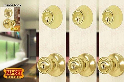 Contractor Lockset Single Cylinder Deadbolt product image