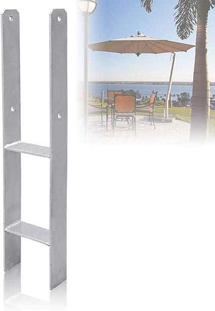 Soporte poste-H 101MM Anclajes poste madera galvanizado alta ...