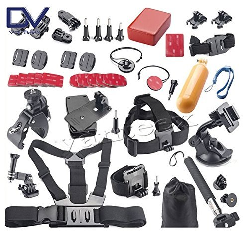 ProGear GoPro 40 Accessories Mount Bundle For GoPro Hero 4/3+/3/2/1 Session
