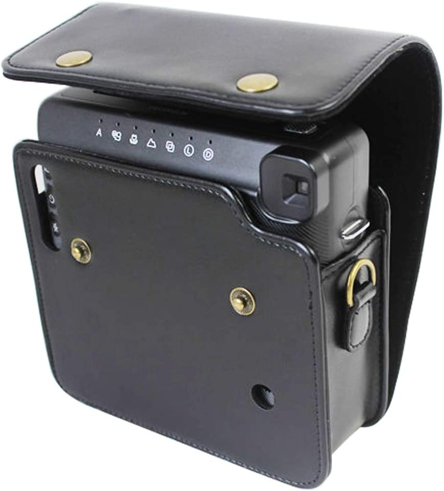 First2savvv PU Cuir de qualit/é sup/érieure Appareil Photo num/érique cam/éscope Housse Cas pour Fujifilm instax Square SQ6 XJD-Fujifilm SQ6-09