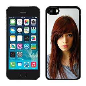 New Custom Designed Cover Case For iPhone 5C With Gorgeous Redhead Girl Mobile Wallpaper.jpg