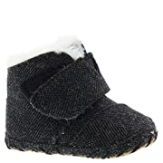 TOMS Kids Unisex Cuna (Infant/Toddler) Black Herringbone 1 M US Infant