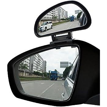 Amazon Com Ampper Blind Spot Mirror Convex Rear View Add
