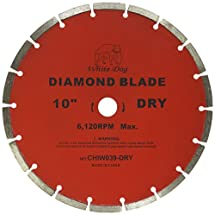 "AJ Wholesale CHIW039-DRY 10"" Diamond Saw Blade"
