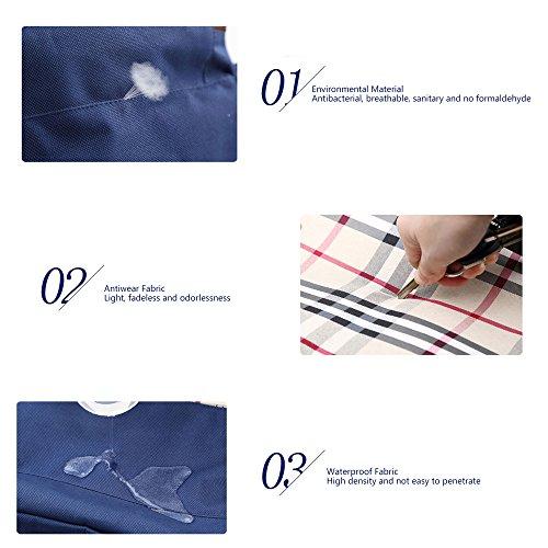 Kris&Ken Gran Multifunctional Mochila de Madre Bolso Cambiar Pañales azul