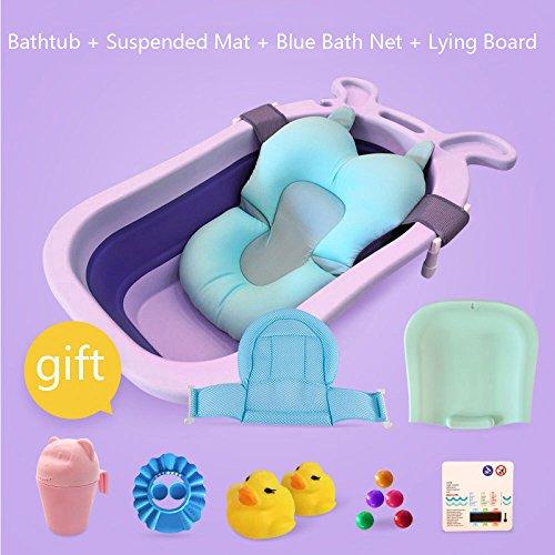Plastic Environmentally Friendly Baby Bath Tub Collapsible Shampoo Chair...