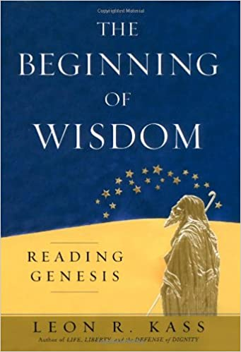Book The Beginning of Wisdom: Reading Genesis