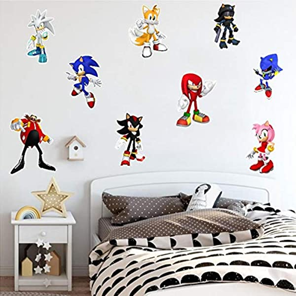 Popular Game Wall Stickers Kids Room Home 3D Decoration PVC Art Decor