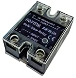 Hoymk Ssr-60da 60a Actually 3-32v Dc to 24-480v Ac Ssr 60da Single Phase Solid State Relay