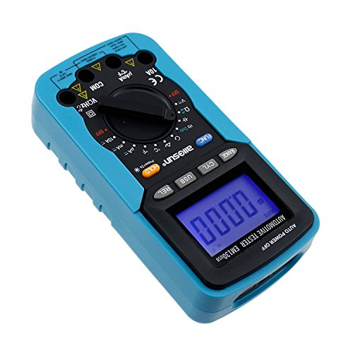 Dig dog bone USB digital multimeter car dedicated dwell angle/rotation number/voltage/current, resistance/capacitance/frequency/duty cycle EM130 by Dig dog bone (Image #3)