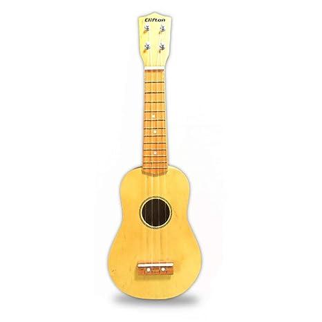 Miiliedy 21 pulgadas Principiante Ukulele Seguridad Ambiental Fácil de aprender Pequeña guitarra exquisita para niños pequeños
