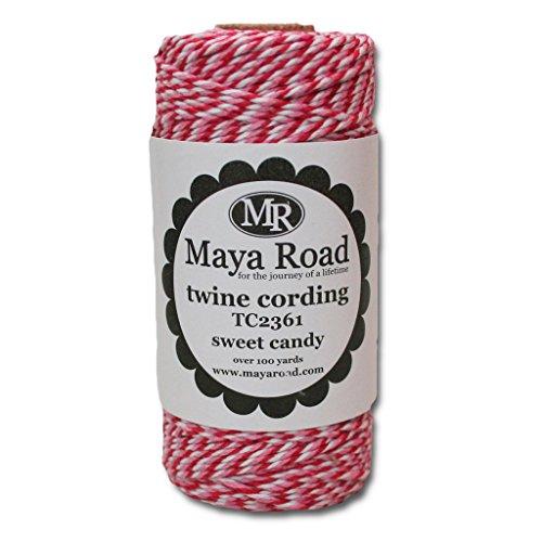 (Maya Road TC2361 Baker's Twine Cording, Sweet Candy)