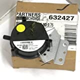632385 - Tappan Furnace Vent Air Pressure Switch - OEM Replacement