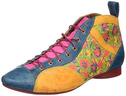Think Guad, Botines para Mujer Multicolor (multicolour 99)