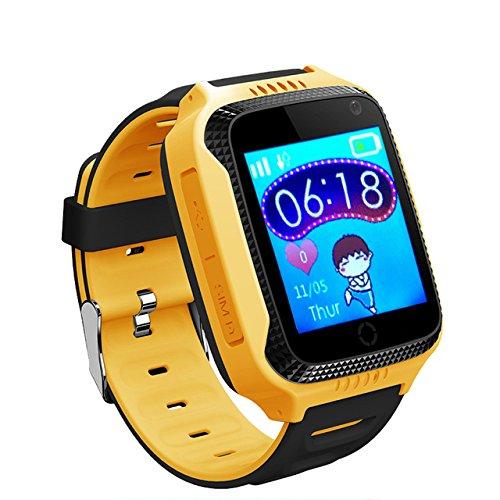 Ninos Reloj Inteligente Telefono Con Camara Localizador Gps De