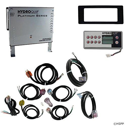 Ht2 Spa - Hydro Quip Control, H-Q PS9704HN, P1, P2, P3, Bl, Oz, Lt, Cp, Acc, LH, HT2-10