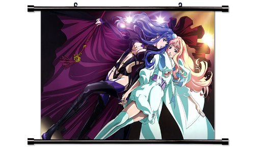 Macross Frontier Anime Fabric Wall Scroll Poster  Inches.-Ma