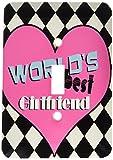 3dRose lsp 31250 1 Worlds Best Girlfriend Single - Best Reviews Guide