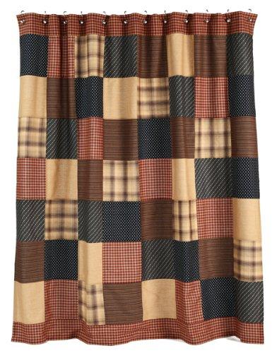 Patriotic Patch Shower Curtain (Patriotic Patch Quilt compare prices)