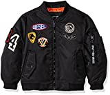Diesel Big Boys' Outerwear Jacket (More Styles Available), Flight/Black, 10/12