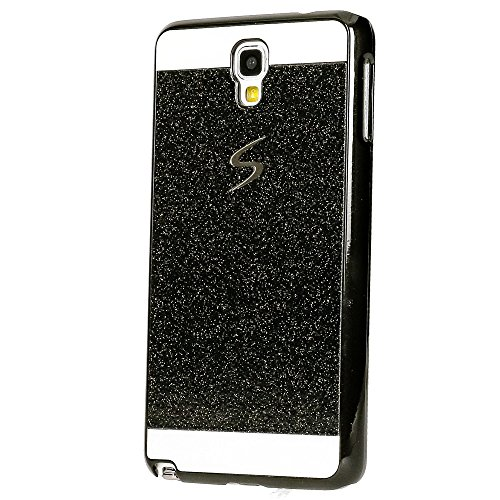 delightable24 Protective Case Sparkle Design Case SAMSUNG GALAXY NOTE 3 NEO Smartphone (Not For Note 3!!!) - Black