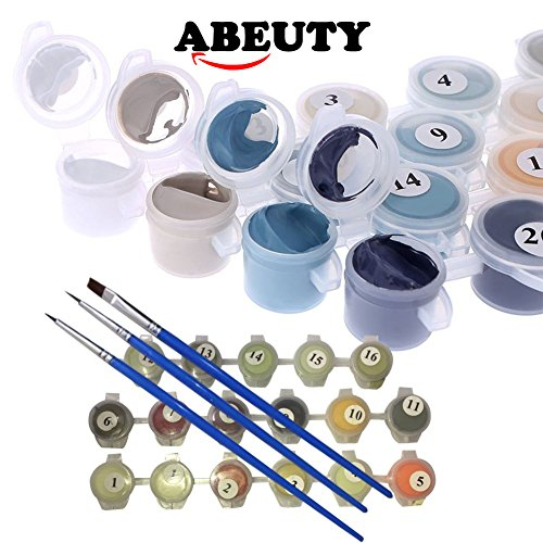 ABEUTY DIY Paint by - Tango 16x20 inches Anti Stress