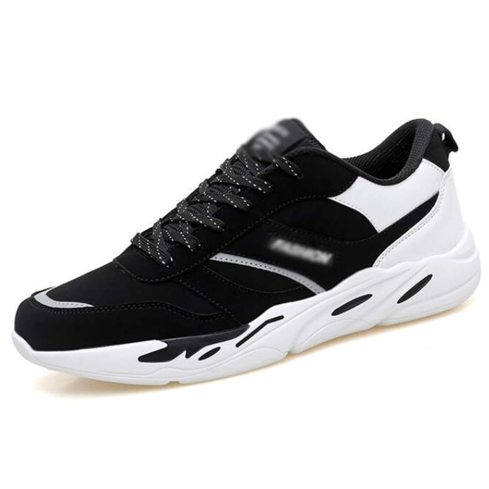 Black 41 Outdoor Sports shoes Male Soft Comfortable Breathable Increase Wear Resistant NonSlip Casual shoes Fashion Old shoes Travel shoes