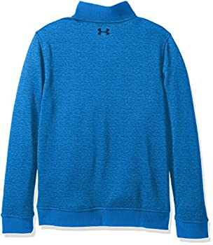 Under Armour Boys' Storm Sweaterfleece 14 Zip,mako Blueacademy, Youth Large 1