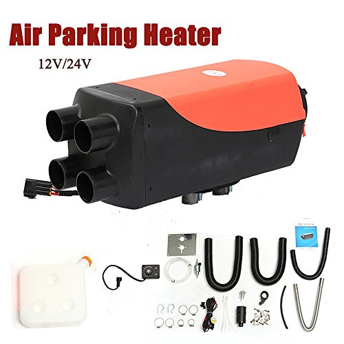 YUEWO 5000W 12V Air Diesel Heater Planar 4 Holes Auto Cars Trucks Motor-Homes Boats Bus Parking Speed Hot -