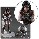 Square Enix Batman v Superman: Dawn of Justice: Wonder Woman Play Arts Kai Action Figure