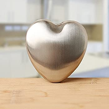 Stainless Steel Soap Bar Odor Remover For Kitchen (Heart)