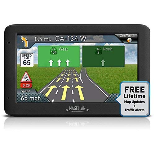 Magellan Roadmate 5635T-LM 5in Touch Portable GPS 3D Navigation System w/ North American Maps (Renewed) (Magellan Roadmate Gps 7 Inch)