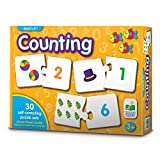 The Learning Journey Match It! - Counting - Self-Correcting Number & Learn to Count Puzzle