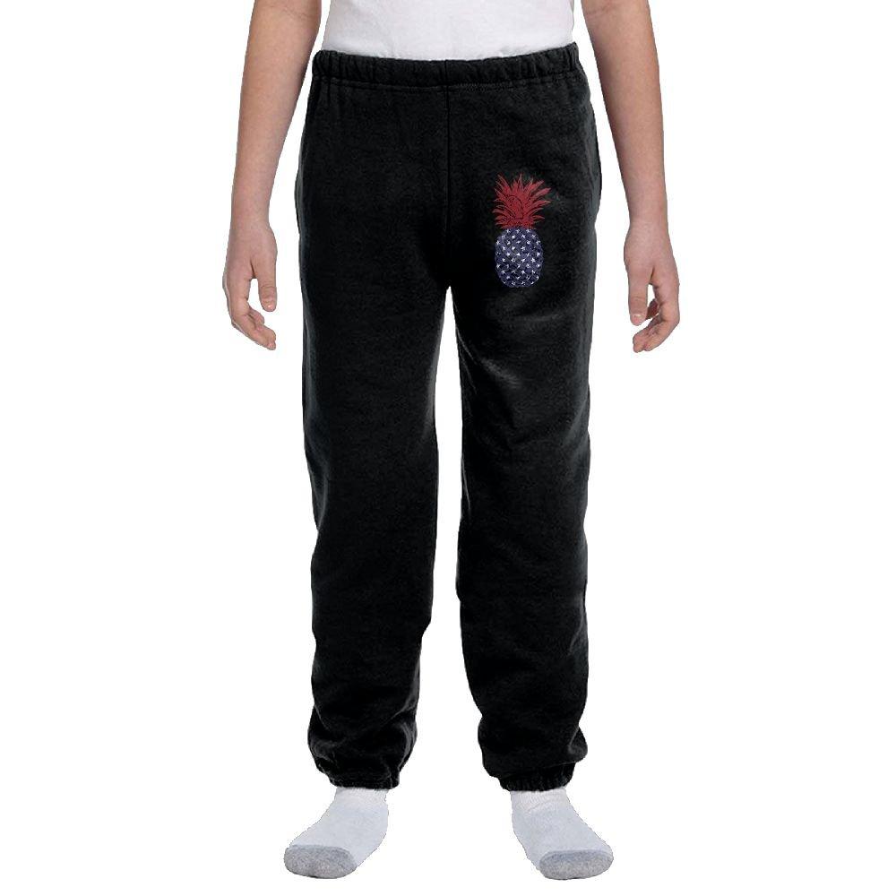 LuckStarKID Patriot Pinnaple Fashion Durable Unisex Sweatpants For Callan by LuckStarKID