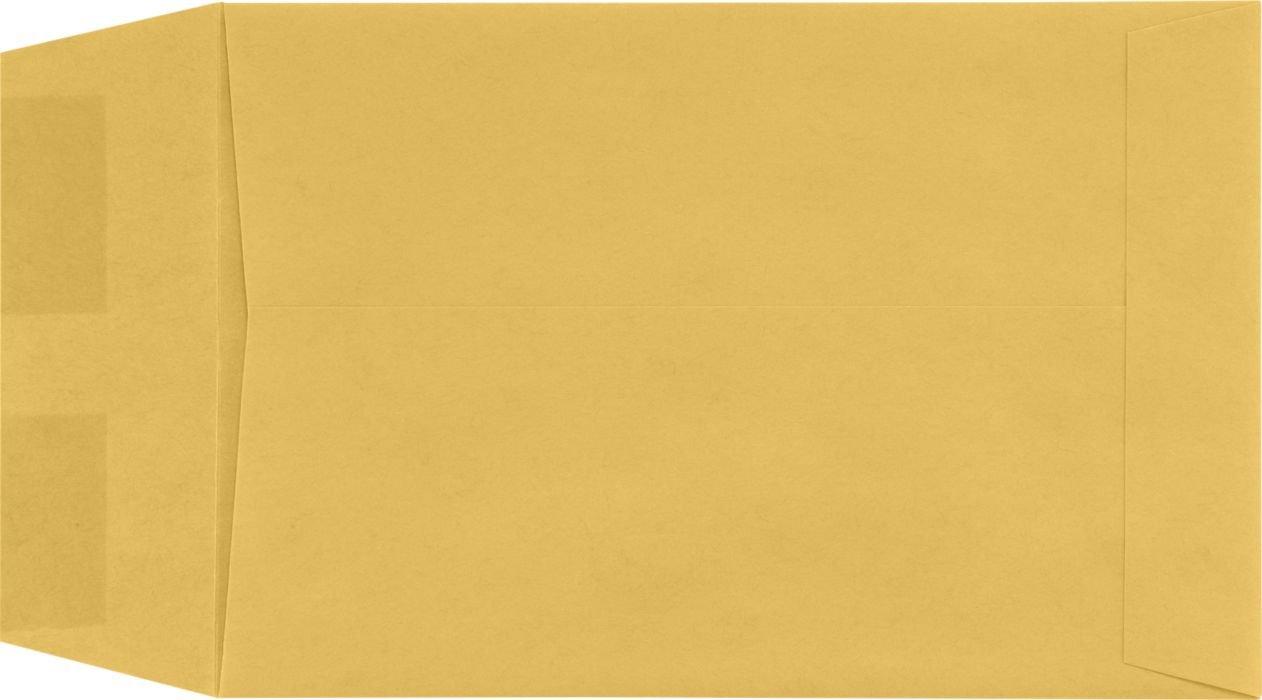 5'' x 7 1/2'' Open End Envelopes - 24lb. Brown Kraft (1000 Qty.)