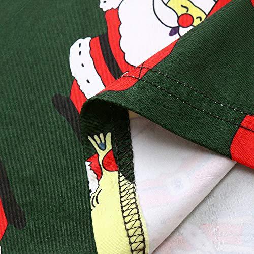 GoodLock Clearance!! Baby Boys Girls Christmas Dress Toddler Kids Long Sleeve Cartoon Print Dress Clothes (Green, 18 Months) by GoodLock (Image #7)