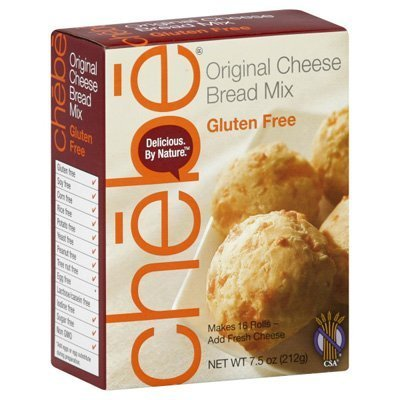(Chebe Bread Original Cheese Bread Mix, Gluten Free, 7.5 oz Bags)