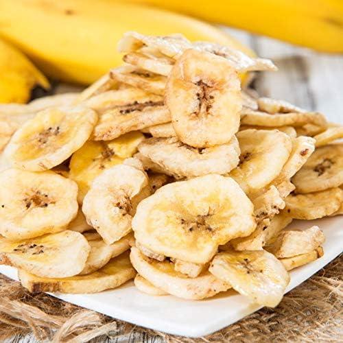 【自然の館】 バナナチップス 200g ドライ