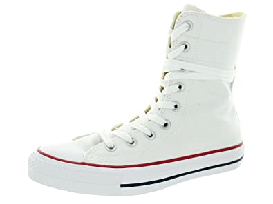 0966dc16568 Amazon.com | Converse Women's Chuck Taylor Hi-Rise Extra High High-Top  Canvas Fashion Sneaker | Fashion Sneakers