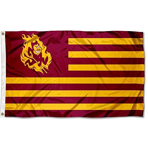 Arizona State Sun Devils Stars and Stripes Nation Flag