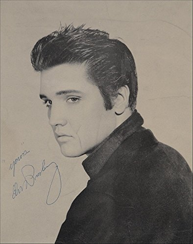 Elvis Presley Autographed Signed 8 x 10 Reprint Photo - (Mint Condition) (Autograph Elvis)