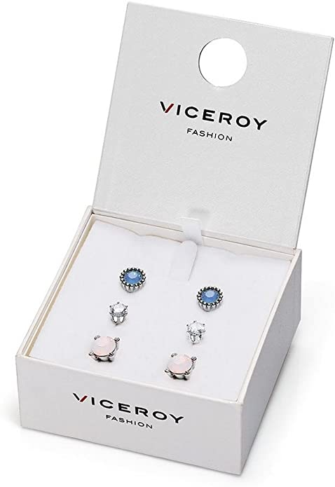 PENDIENTES VICEROY 3095E01019 PACK MUJER RODIO FASHION: Amazon.es ...