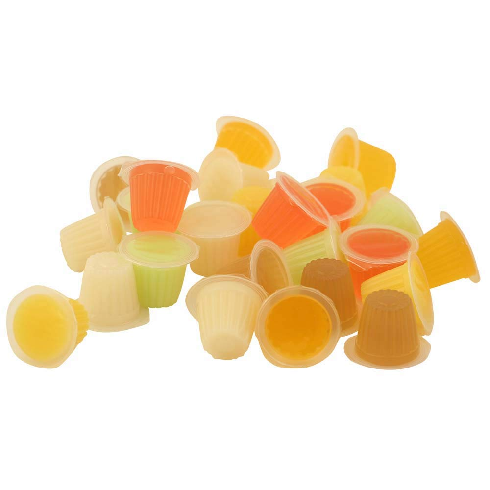 24 Fruit Cups for Birds | Jelly Parrot Treats by Zoofaria | African Greys | Large and Small Macaws | Amazon Parrots| Cockatoos | Caiques | Cockatiels | Eclectus | Large and Small Conures | Lovebirds | Meyer's | Senegal | Quakers | Monk Parakeet