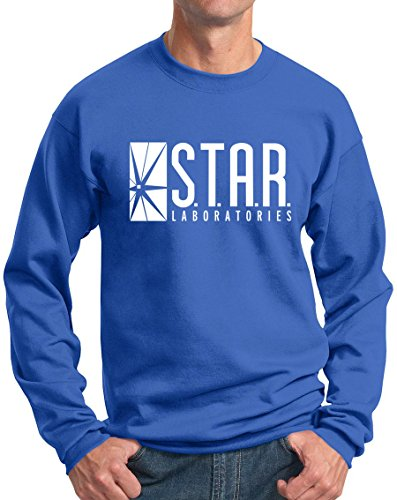 Star Labs Sweatshirt Star Laboratories Gift Sweatshirts R Blue M