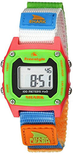 Freestyle Unisex 10022930 Shark Classic Mini Digital Display Japanese Quartz White Watch - Classic Surf Collection