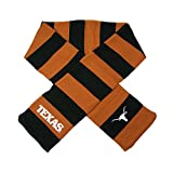 Forever Collectibles Texas Longhorns Official NCAA Striped Rugby Scarf by 380967
