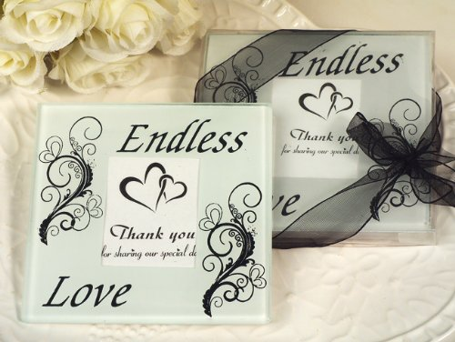 Our Endless love glass coasters by Cassiani (Image #1)