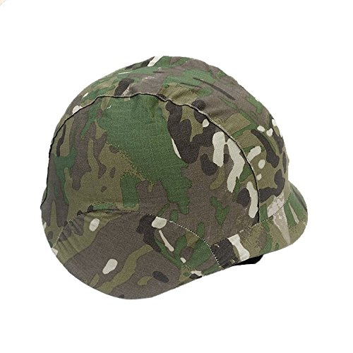Meanhoo Outdoor Airsoft Shooting Camouflage Helmet Wrap Cover - Vietnam era (Vietnam Helmet)