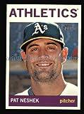 2013 Topps Heritage # 393 Pat Neshek Oakland Athletics (Baseball Card) Dean's Cards 8 - NM/MT Athletics